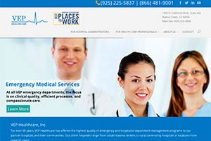 Website Design for Physician Website