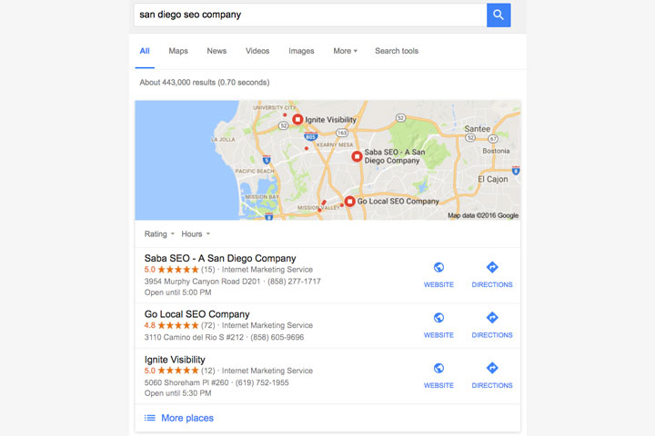 Seo Local Search Services in San Diego, CA