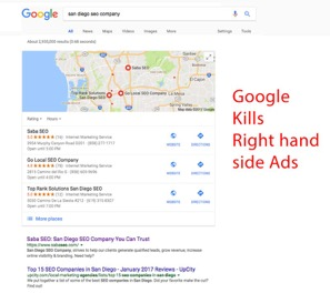 Google Kills Right Hand Ads