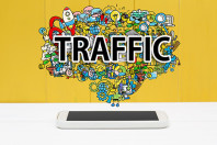 Mobile Devices Now Contribute Significantly Toward Online Traffic