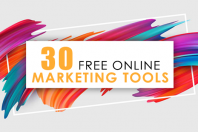 30 Online Marketing Tools You Can Use for Free [Infographic]