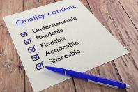 Choosing Content: Quality vs. Quantity